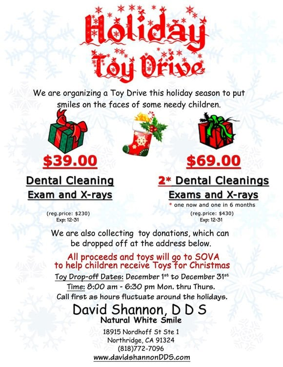 David Shannon holiday toy drive